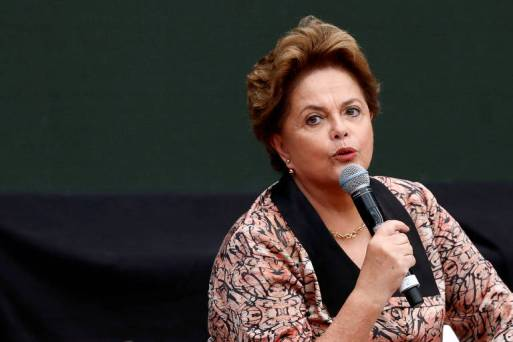 Ex-presidente do Brasil Dilma Rousseff em Buenos Aires