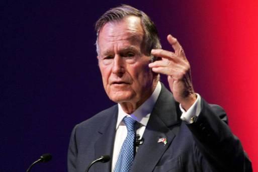 O ex-presidente americano George H.W. Bush, que morreu no início da madrugada deste sábado (1).