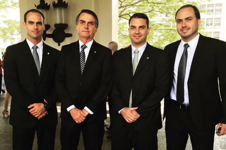 <strong>Os filhos de Bolsonaro</strong>