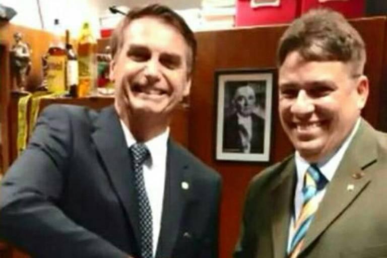 Imagem do Facebook de Carlos Victor Guerra Nagem, que foi indicado para cargo na Petrobras