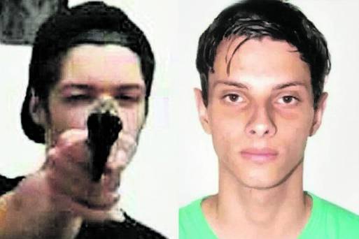 Guilherme, 17, e Luiz Henrique 25, atiradores de Suzano