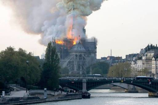 Incêndio na Notre-Dame