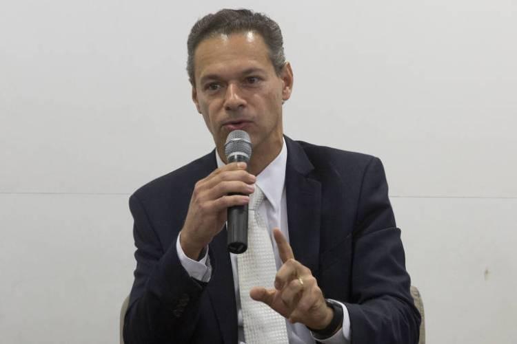 O advogado e professor Renato Opice Blum, especialista em direito digital, durante debate