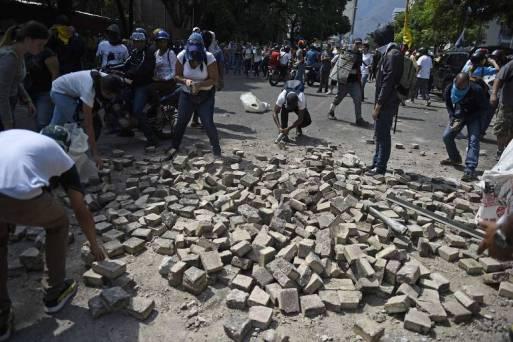 Protestos de 1º de Maio na Venezuela