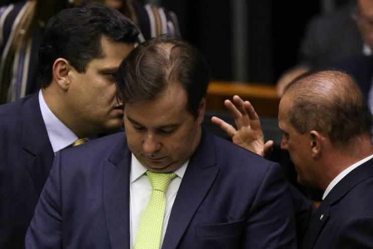 31.out.2019: Rodrigo Maia afirma que governo prometeu entregar na semana seguinte proposta de reforma administrativa