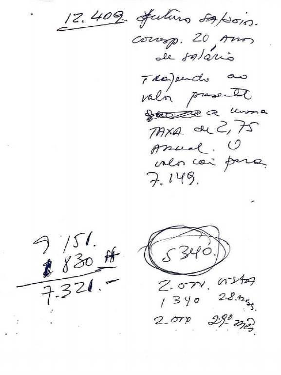 Caboclo diz que manuscrito de Del Nero pede dinheiro para evitar denúncia de assédio