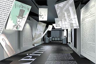 Dividida em 11 capítulos, a mostra, que começa hoje para convidados, reúne sala de música do séc. 19, análise crítica, manuscritos e livros