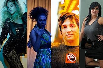 Wanessa, Silvetty Montilla, Chris Cox, e Gretchen (esq. para dir.) são atrações de clubes paulistanos neste feriado prolongado