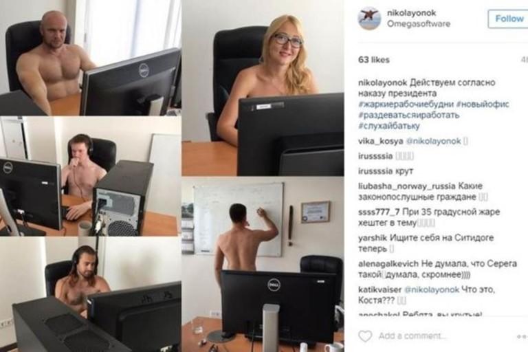 Cidadãos de Belarus usaram as redes sociais para protestar contra orientação do governo