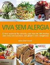 Livro ensina receitas saborosas para quem tem alergia