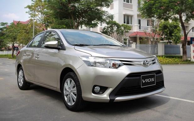 Toyota Vios,ô tô Toyota,ô tô giảm giá,xe cỡ nhỏ,Honda City,ô tô Nhật,giá ô tô
