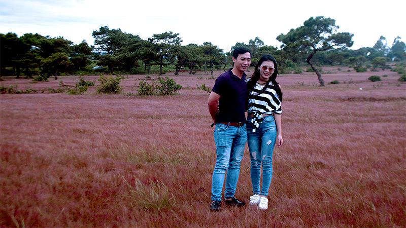 Thung lũng cỏ hồng,Đà Lạt,Gia Lai