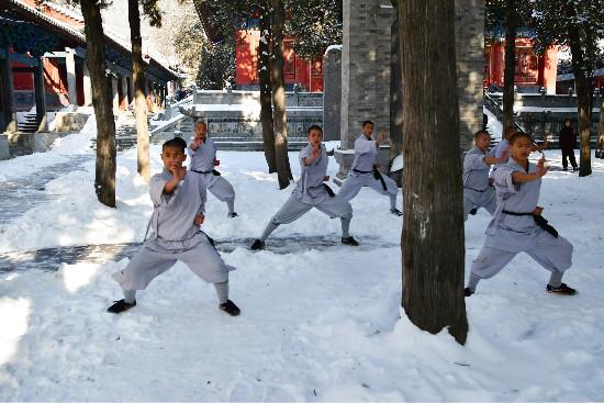 Thiếu Lâm Tự,kung fu,võ thuật,tuyết