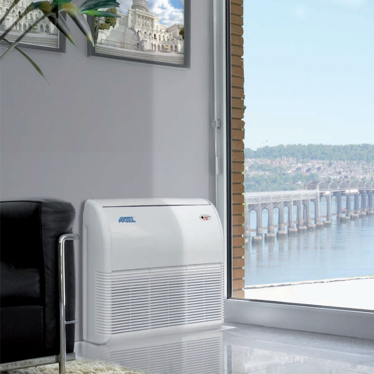 Airco zonder buitenunit Airco verwarmen en koelen