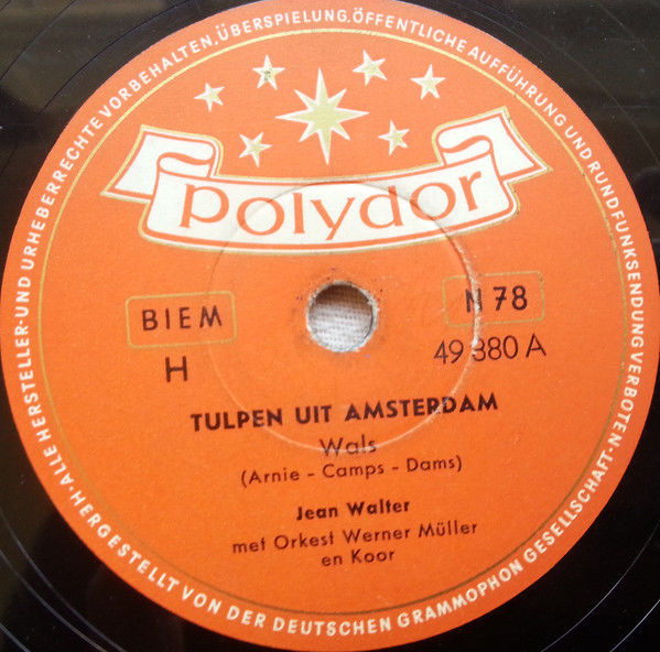 Tulpen uit Amsterdam  Populaire liedjes  De Reizende Jukebox