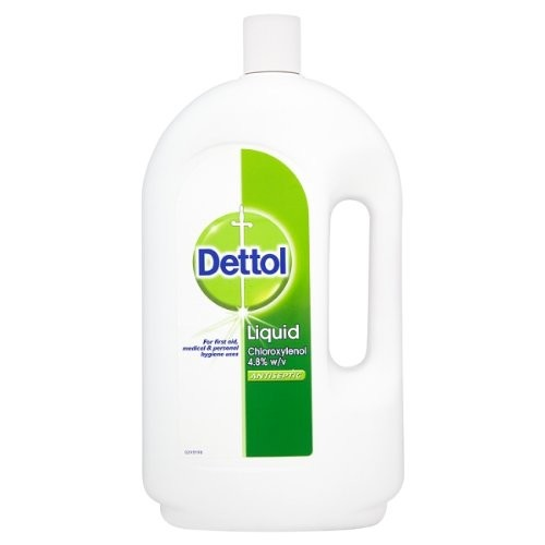 Dettol 4 liter (med/antiseptic) (Dettol chloroxylenol 48 mg/ml)