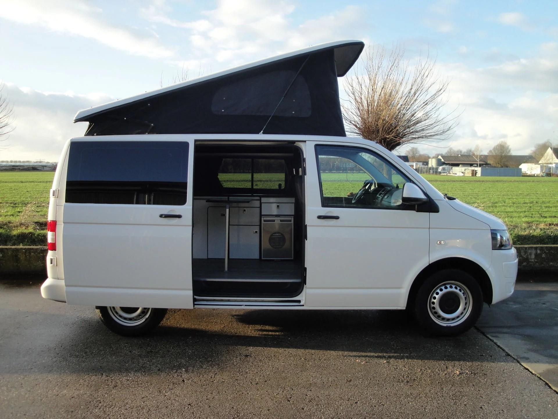 Te koop VW T5 camper Wit 2013  Occasions  Camperbouw