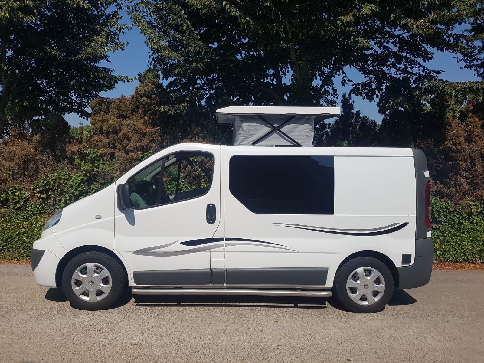 Verkocht Renault Trafic wit 2010  Verkocht  Occasions