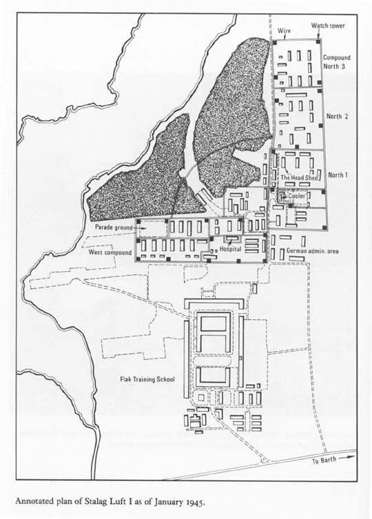 Stalag Luft 1 / Transit Camp of the Luftwaffe Dulag Luft