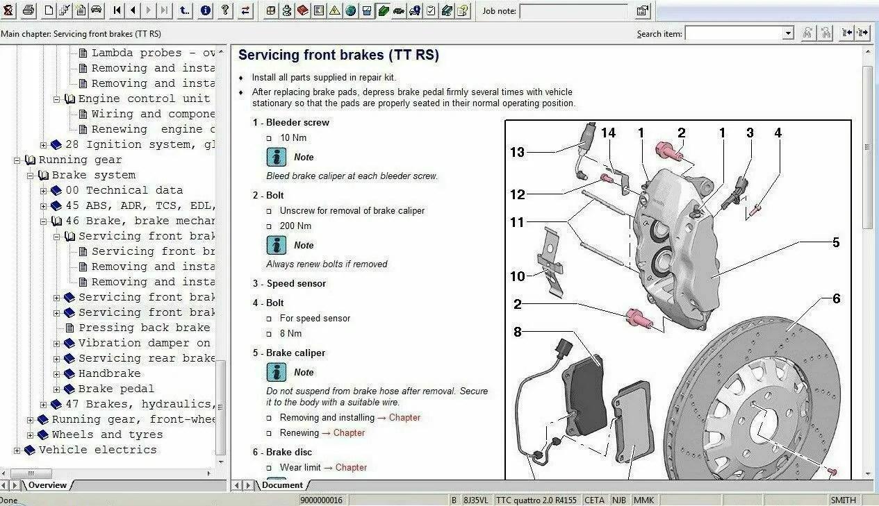 ELSAWIN 6.0 + ETKA 8.0 programma * 128GB USB-stick