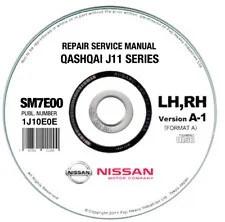 Nissan Qashqai J11 PDF Workshop Service