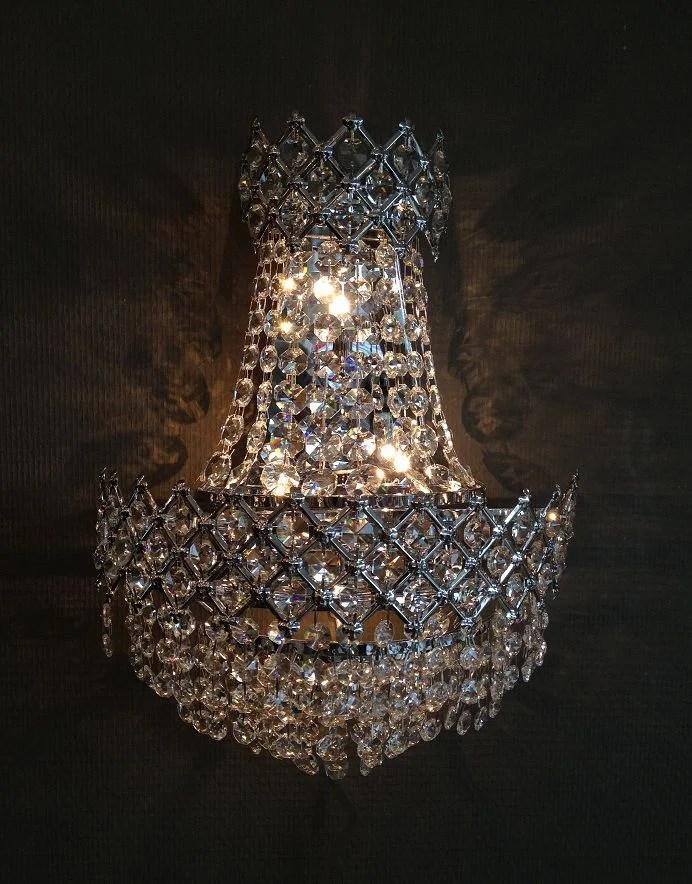 Kristal Wandlampjes  Zakkroonluchters  Collectie  D