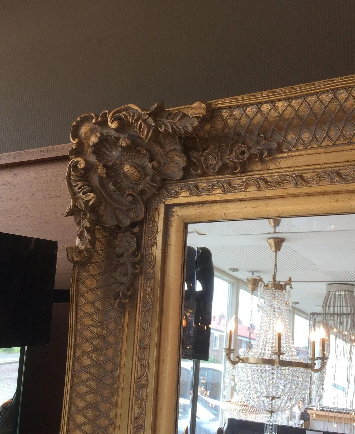 Barok Spiegel Xenos.Staande Spiegel Barok