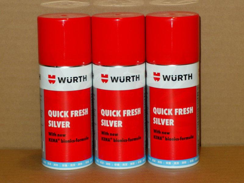 《TT油品》Wurth 福士 QUICK-FRESH 車內空調&內裝 清新劑 快速即時清潔空調及內裝難聞異味 - 露天拍賣