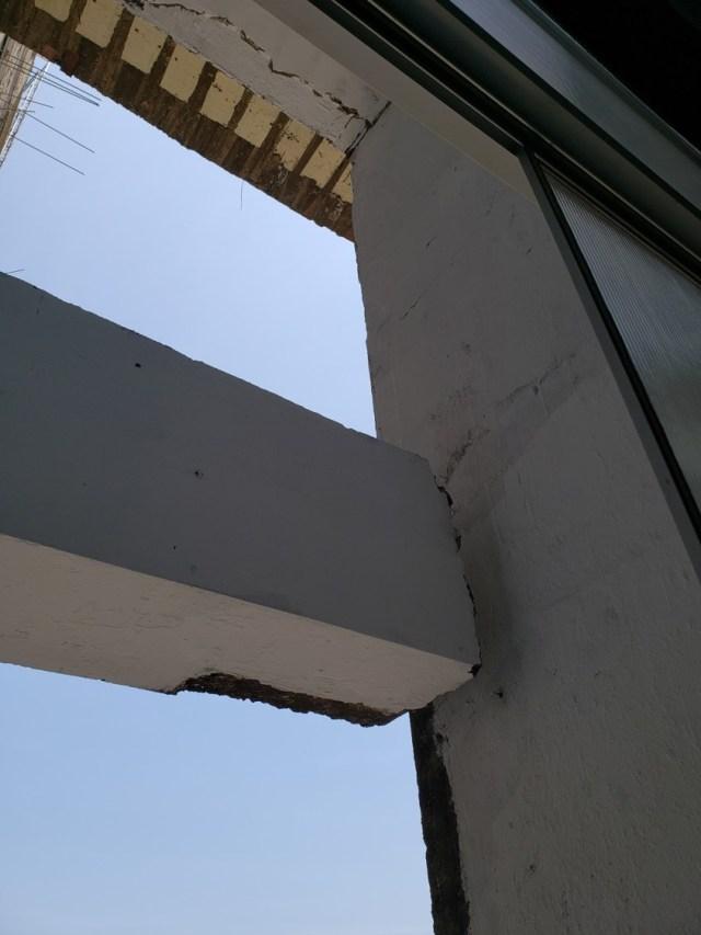 Durante la inspección se advirtieron problemas de infraestructura.