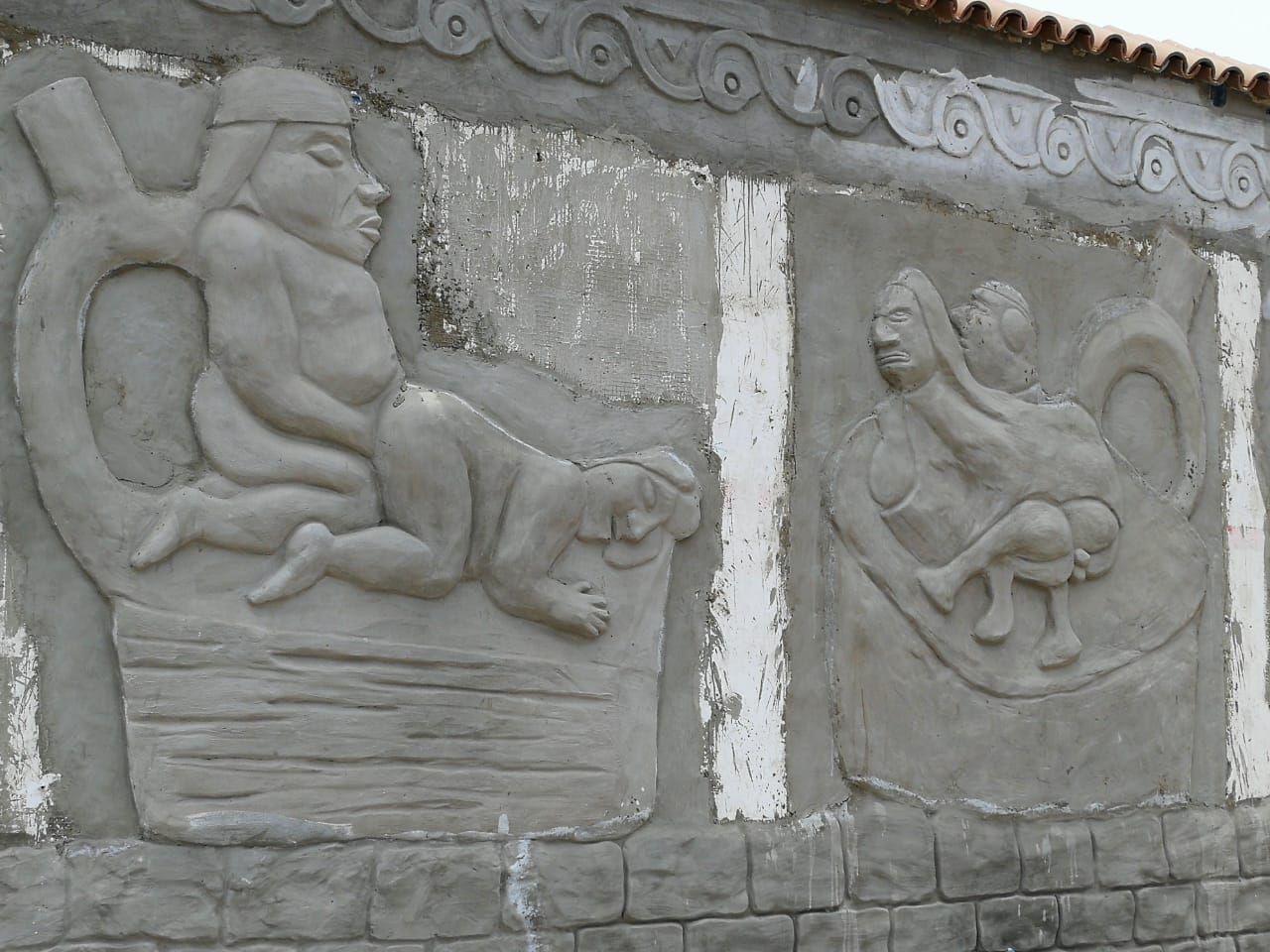 Sin embargo, hay quienes consideran esto como parte del patrimonio cultural del país y piden respetar el mural.