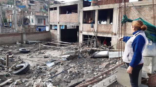 El alcalde de Paucarpata, José Supo, indicó que la capacidad de respuesta del distrito está superada.
