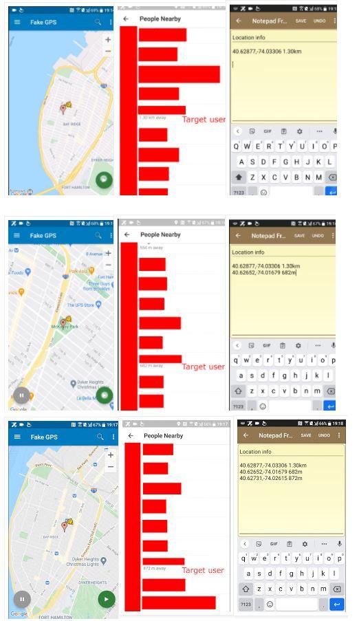 Ahmed Hassan usó las coordenas de las ubicaciones para obtener aproximaciones.