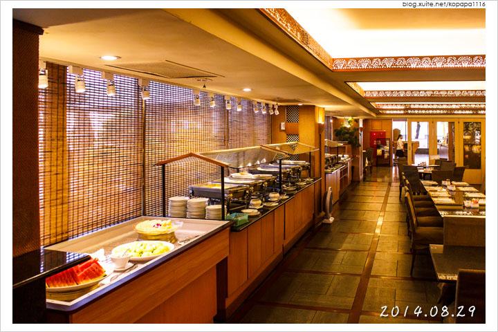 [花蓮市區] 統帥大飯店-西餐廳   自助式早餐