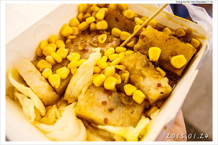 [台中一中商圈] 米品香 蘿蔔糕‧粿   泡蛋蘿蔔糕