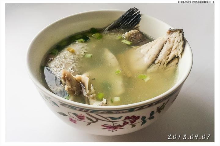 [小薛食譜] 鱸魚湯