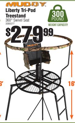 swivel chair tree stand coleman camp chairs with side table rural king