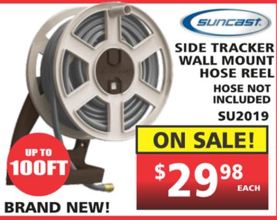 Craftsman Automatic Tracking Hose Reel For Up To 225 Ft