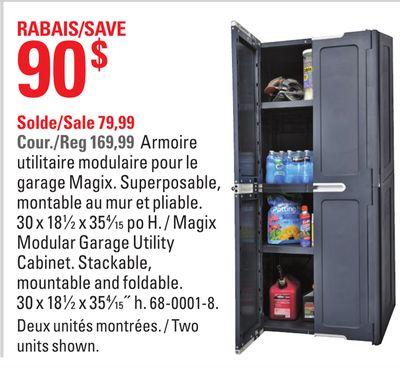 armoire de garage canadian tire