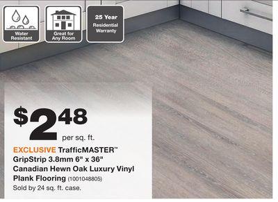 gray vinyl plank flooring home depot