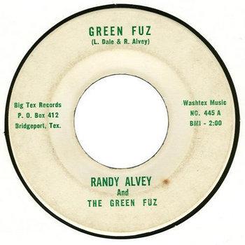 GREEN FUZ (Randy Alvey & the Green Fuz) cover art