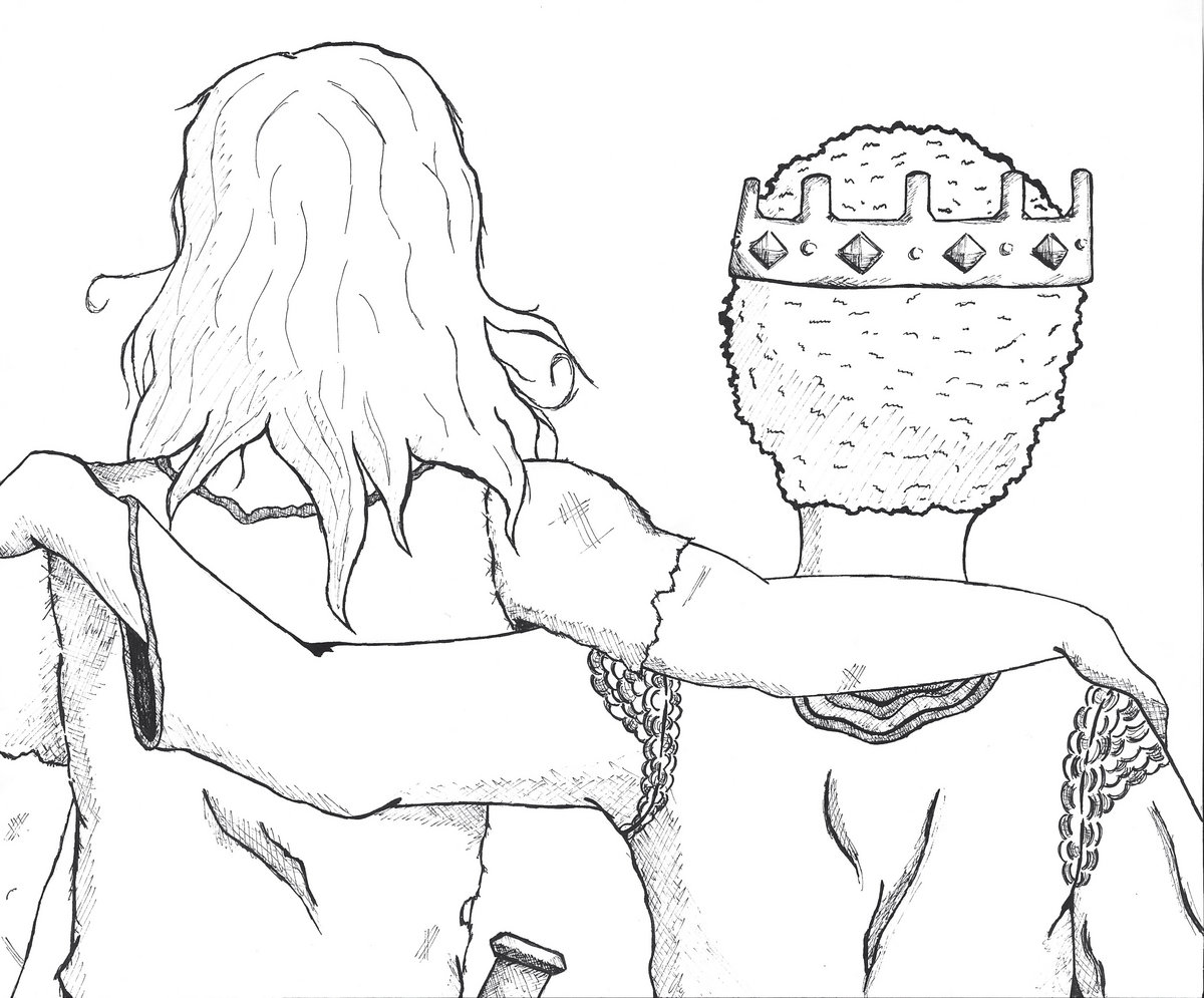 David And Jonathan Coloring Page Coloring Pages