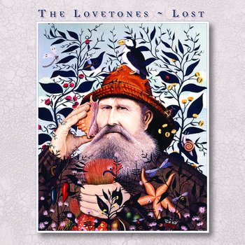 "The Lovetones - ""Lost"" Limited Edition 12"" classic black vinyl cover art"