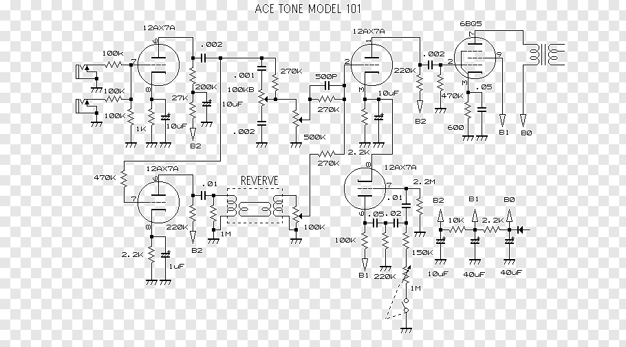 Acoustic Guitar Amplifier Circuit Diagram With Pcb Layout