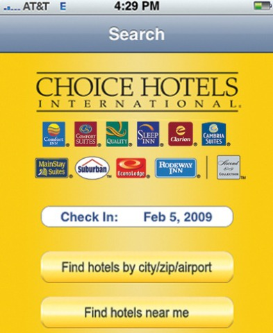 Hotel apps