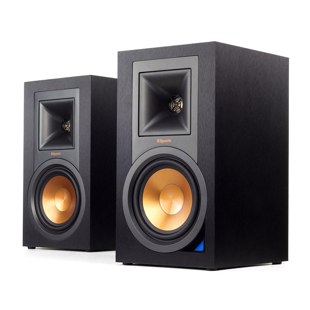r-15pm powered monitor speakers   bluetooth & vinyl ready   klipsch