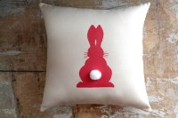 Easter Pillow, Bunny Pillow, Easter Decor, Cottage Decor ...