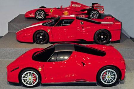 Ferrari electric F1