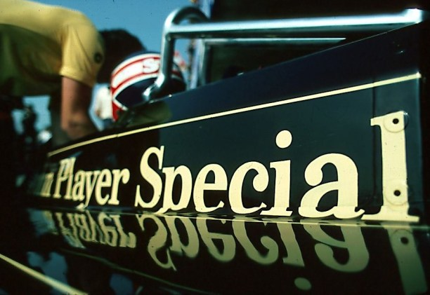 Mansell—JPS Lotus 1981