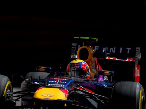 Webber—Monaco 2013