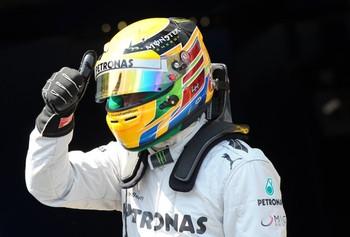 Hamilton—Germany 2013 qualifying